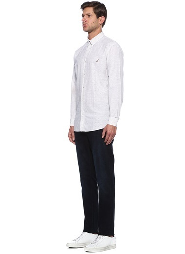Beymen Club Uzun Kollu Gömlek Beyaz